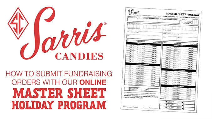 How to Submit Fundraising Orders with our Online Master Sheet Holiday program