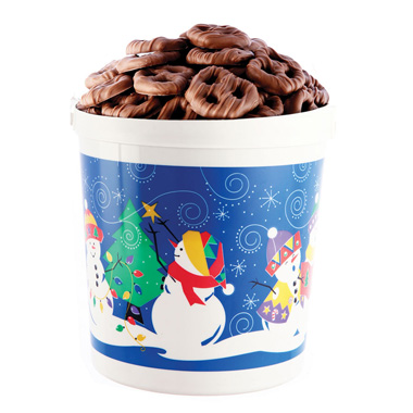 Christmas Mini Pretzel Pail