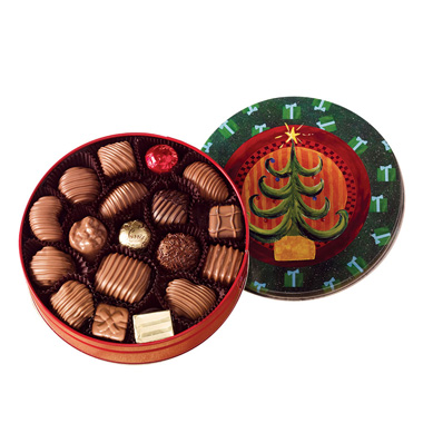Chocolate Assortment - Christmas Tin
