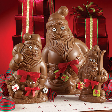 Milk Chocolate Semi Santas